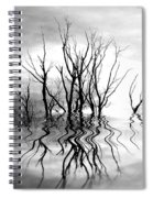 Dead Trees Bw Spiral Notebook