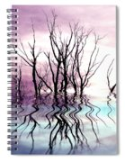 Dead Trees Colored Version Spiral Notebook