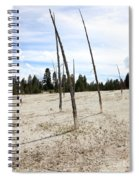 Dead Trees, Yellowstone Spiral Notebook