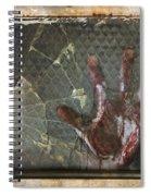 Dead Window Spiral Notebook