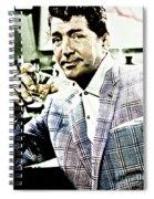 Dean Martin Spiral Notebook