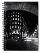 Dean Street And The Side Fn0058 Spiral Notebook