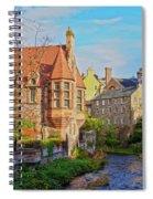 Dean Village, Edinburgh, Scotland Spiral Notebook