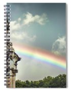 Death And A Rainbow Spiral Notebook