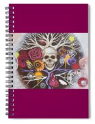 Death Becomes Me Spiral Notebook