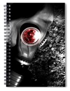Death In Battle Spiral Notebook