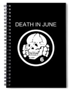 Death In June Spiral Notebook