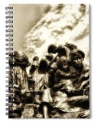 Death In The Time Of The Irish Famine Spiral Notebook