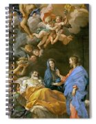 Death Of Saint Joseph Spiral Notebook