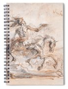 Death On The Battlefield Spiral Notebook