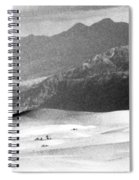 Death Valley 1977 Spiral Notebook