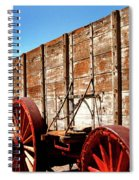 Death Valley Borax Wagons Spiral Notebook