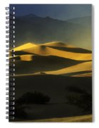 Death Valley California Symphony Of Light 4 Spiral Notebook