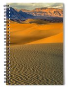 Death Valley Golden Hour Spiral Notebook