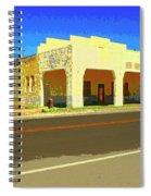 Death Valley Junction Spiral Notebook