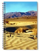 Death Valley Spiral Notebook