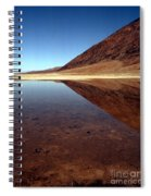 Death Valley Lake Spiral Notebook