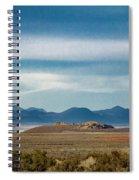 Death Valley Pano Spiral Notebook