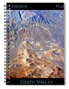 Death Valley Planet Earth Spiral Notebook