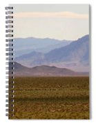 Death Valley Range Spiral Notebook