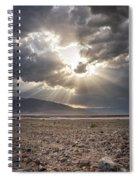 Death Valley Sun Burst Spiral Notebook
