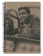 Debden Eagle Spiral Notebook