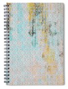 Decadent Urban Light Colored Patterned Abstract Design Spiral Notebook