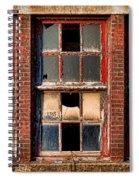 Decayed Spiral Notebook