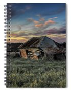 Decaying Cottage Spiral Notebook