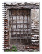Decaying Wall And Window Antigua Guatemala 2 Spiral Notebook