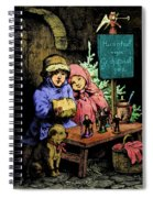 A Warm Moment On A Cold December Day Spiral Notebook