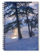December Dawn Spiral Notebook