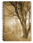 December Glow Spiral Notebook