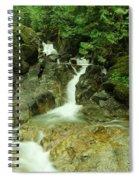 Deception Falls In September Spiral Notebook
