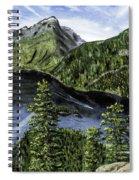 Deception Pass Painting Spiral Notebook