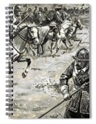 Decisive Battles  Where King Charles Lost His Crown Spiral Notebook