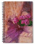 Deck Flowers #2 Spiral Notebook