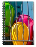 Deck Party Spiral Notebook