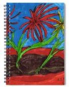 Deck Plant Spiral Notebook