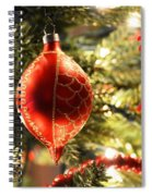 Deck The Halls Spiral Notebook