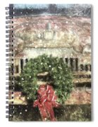 Decked Out For Christmas Spiral Notebook