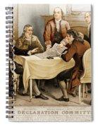 Declaration Committee 1776 Spiral Notebook
