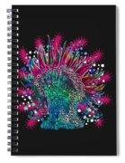 Deco Anemone Spiral Notebook