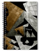 Deconstruction Spiral Notebook