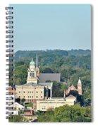 Decorah Iowa Panorama 2 Spiral Notebook