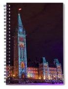 Decorated Spiral Notebook