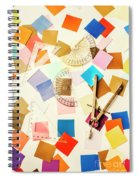 Decoration In Symmetry Spiral Notebook