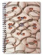 Decorations Of Art. Gothic Art Ribbings Spiral Notebook