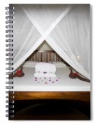 Decorative Bed Spiral Notebook