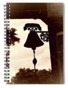 Decorative Bell Spiral Notebook
